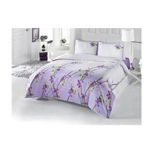 Lenjerie de pat cu cearșaf Alya, 200 x 220 cm