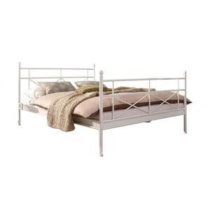 Bílá jednolůžková postel 13CasaUtah, 90x200cm