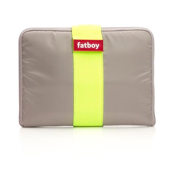 Fatboy obal na tablet Tuxedo, šedý/žlutý
