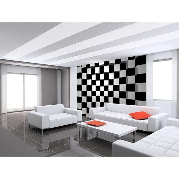 Velkoformátová tapeta BW Squares, 366x254 cm