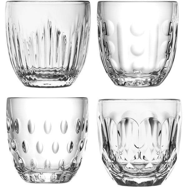Sada 4 skleněných pohárů La Rochére Gobelet, 230 ml