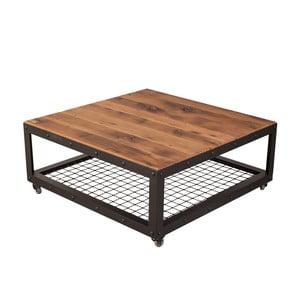 Konferenční stolek s deskou z rekultivovaného dubového dřeva FLAME furniture Inc. Jumbo