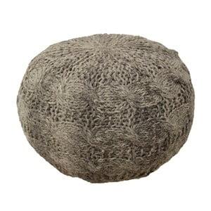 Sedací puf Artic, šedý