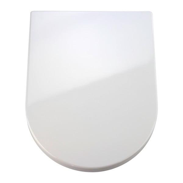 Premium Palma fehér WC-ülőke, 46,5 x 35,7 cm - Wenko