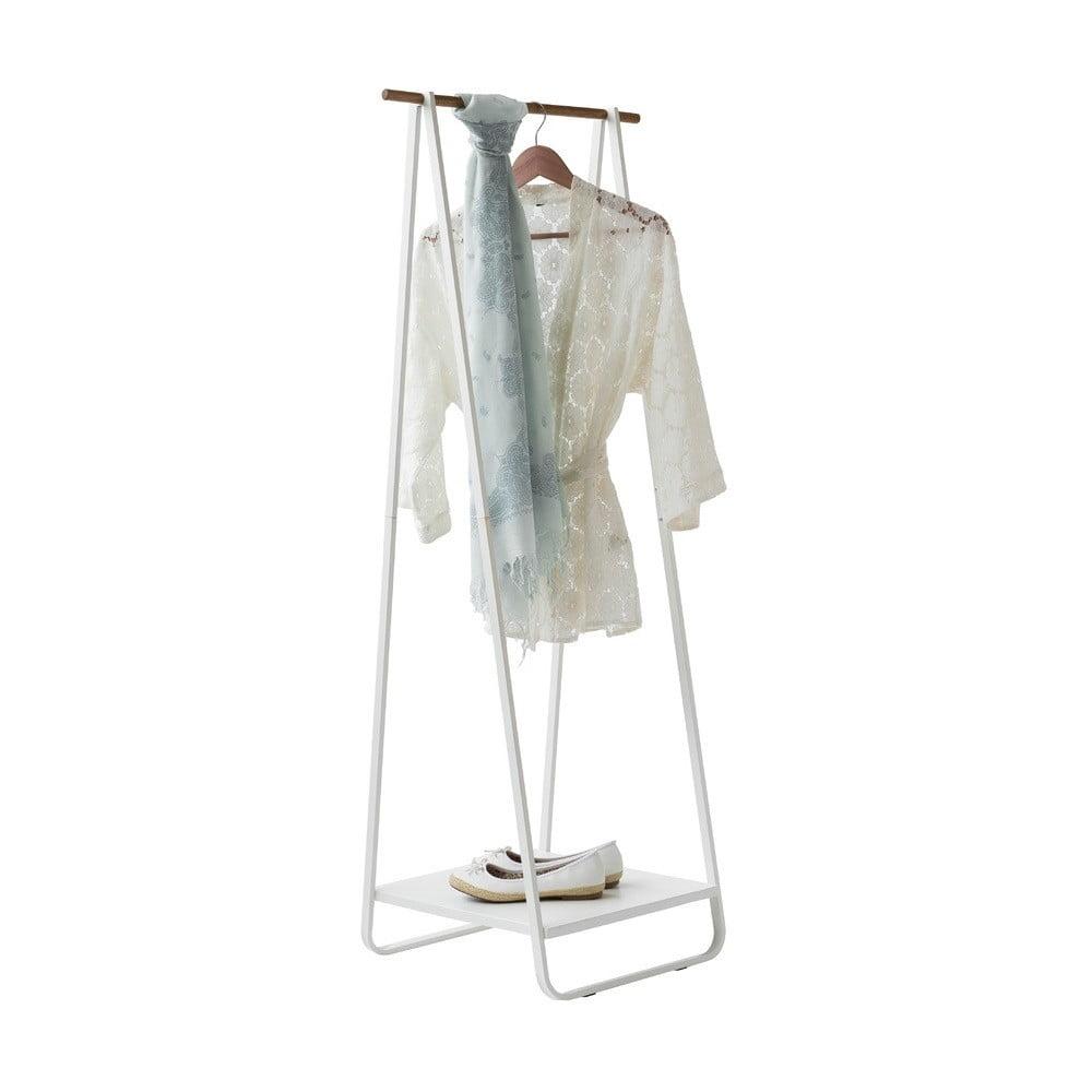 Stojan na oblečení s poličkou Compactor Portant Blanc Compactor