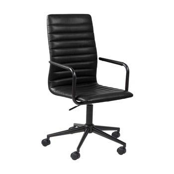 Scaun de birou pe roți Actona Wislow, negru imagine