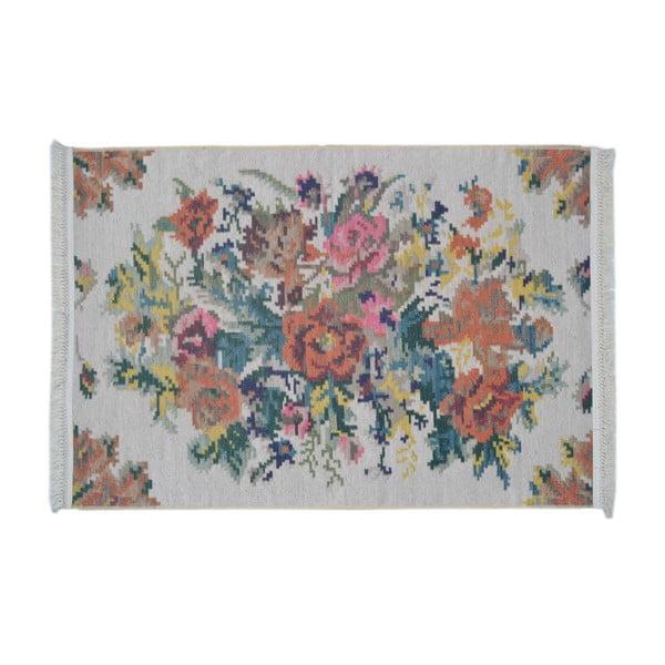 Kilim koberec Siesta 1502 White, 155x230 cm