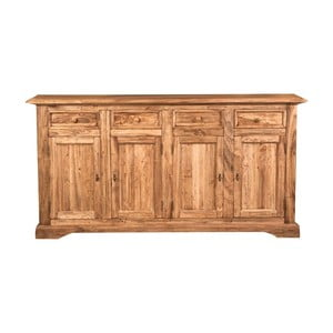Dřevěná čtyřdveřová komoda Crido Consulting Boca