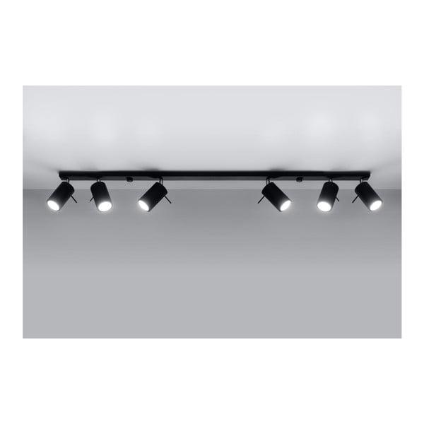 Lustră Nice Lamps Etna 6L, negru