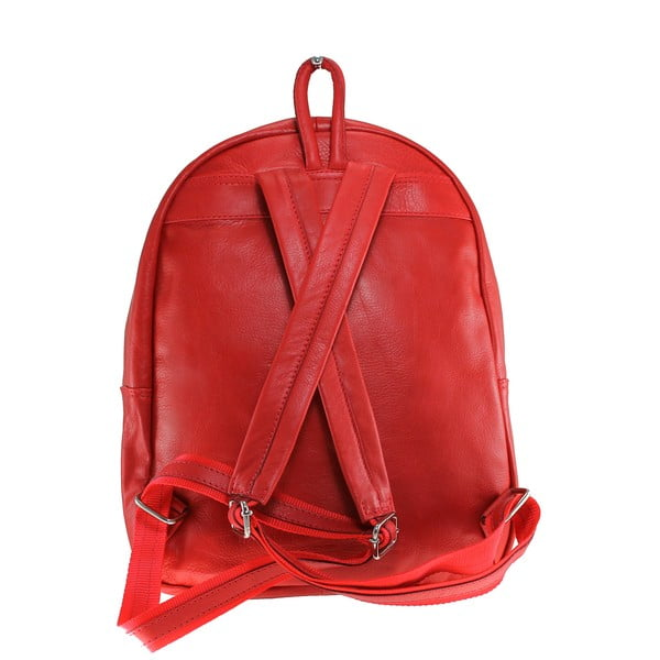 Kožený batoh Dina Rosso