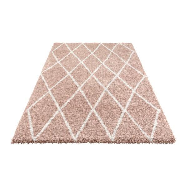 Růžový koberec Elle Decor Passion Abbeville, 120 x 170 cm