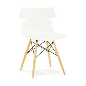 Bílá jídelní židle Kokoon Strata