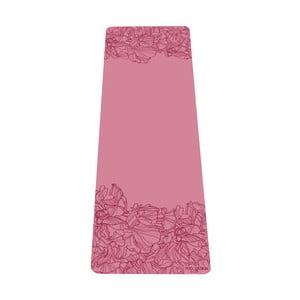 Růžová podložka na jógu Yoga Design Lab Aadrika Rose, 5 mm