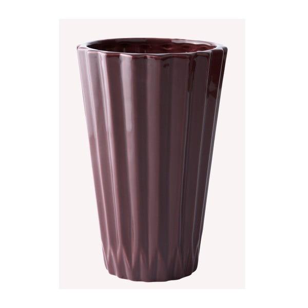 Keramická váza Plum, 19 cm