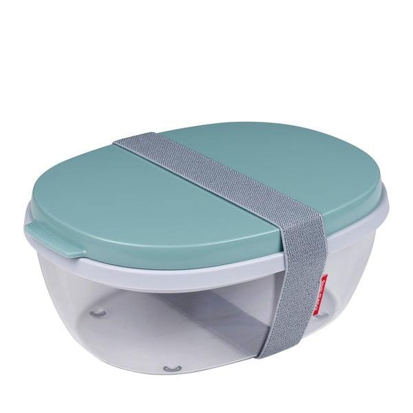 Ellipse ételhordó doboz, zöld fedéllel - Rosti Mepal