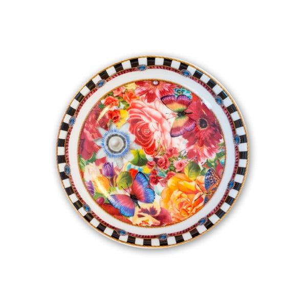 Porcelánový mělký talířek Melli Mello Eliza, 10 cm