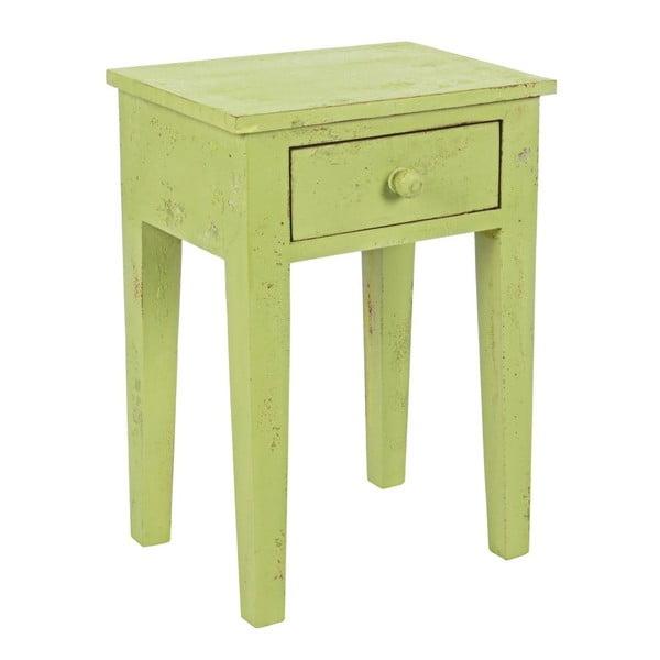 Noční stolek Lampada Verde, 40x30x57  cm