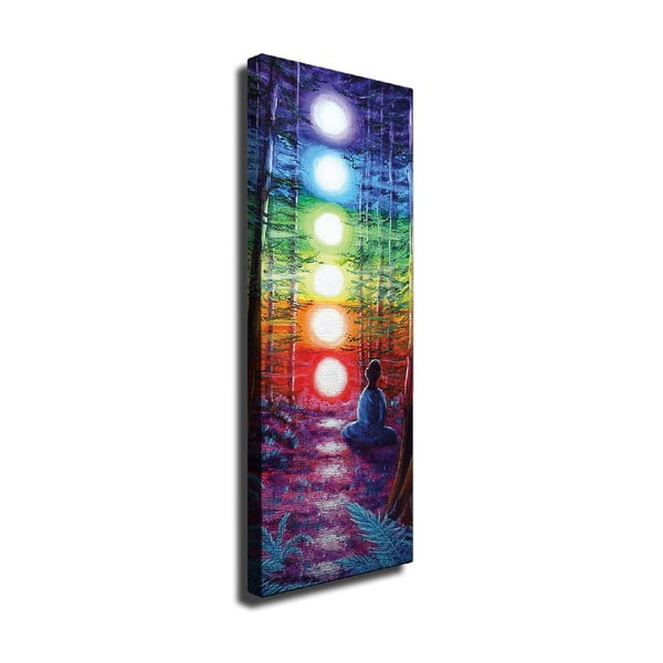 Tablou pe pânză Lights, 30 x 80 cm