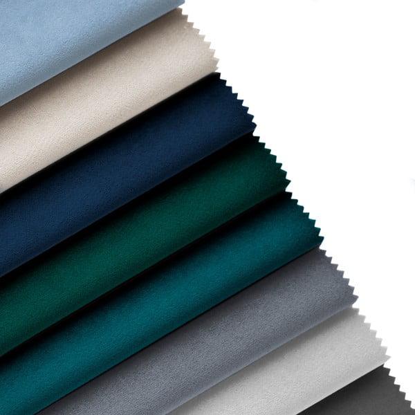 Světlé modrá podnožka Cosmopolitan Design Vienna, 100 x 80 cm