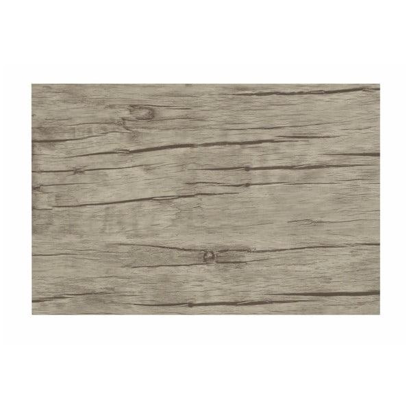 Mata stołowa z tworzywa sztucznego Tiseco Home Studio White Wood, 30x45 cm
