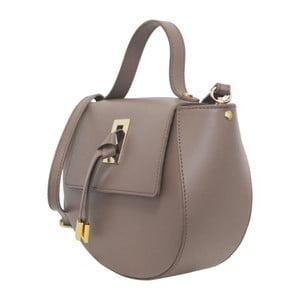 Béžová kožená kabelka Maison Bag Gin