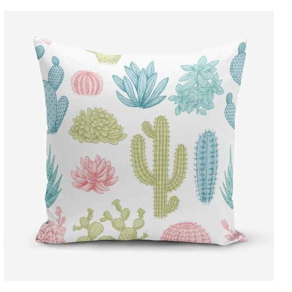 Cactus pamutkeverék párnahuzat, 45 x 45 cm - Minimalist Cushion Covers