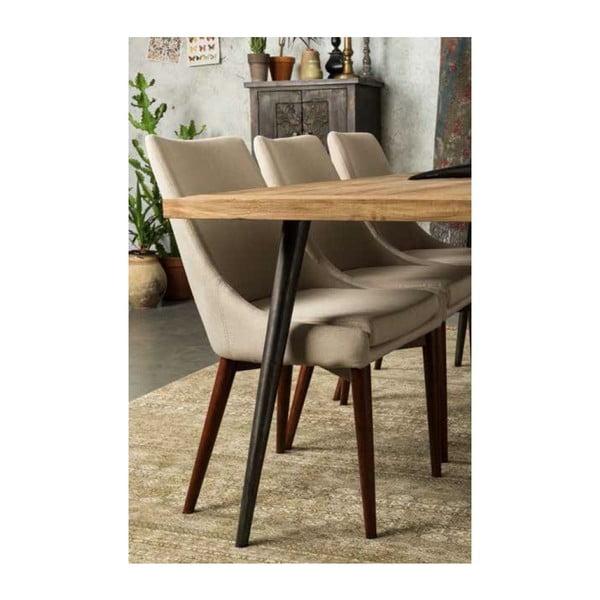 Béžová židle Dutchbone Juju