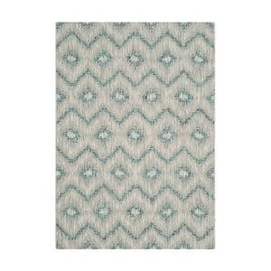 Šedomodrý koberec vhodný i na ven Safavieh Safi, 121 x 170cm