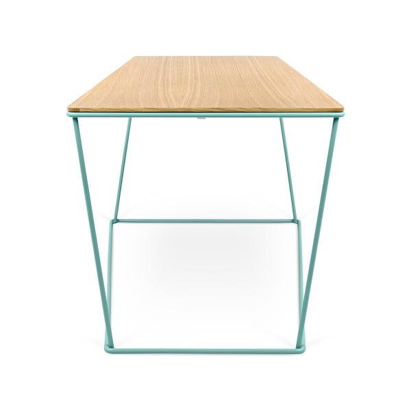Konferenční stolek se zelenými nohami TemaHome Opal