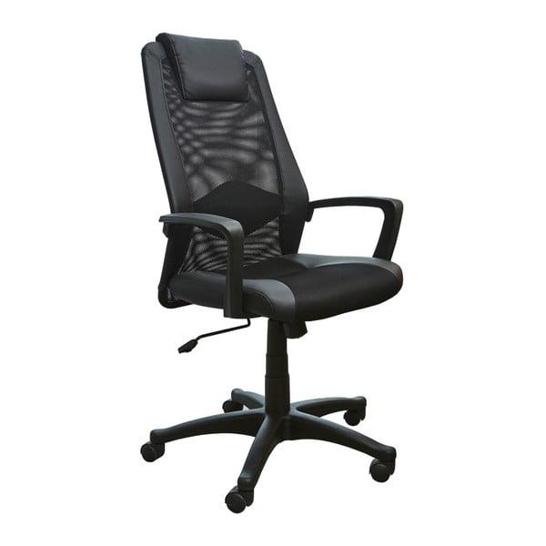 Černá kancelářská židle 13Casa Office A23