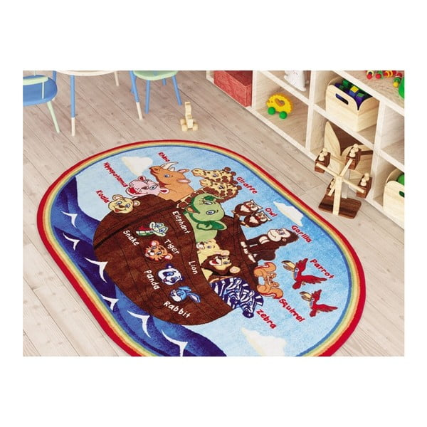Detský koberec Animal Ship, 133 x 190 cm