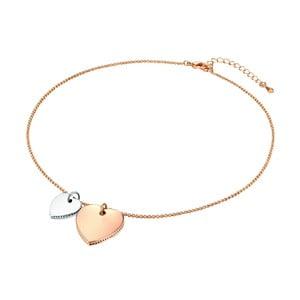 Dámský náhrdelník v barvě růžového zlata Runaway Heart