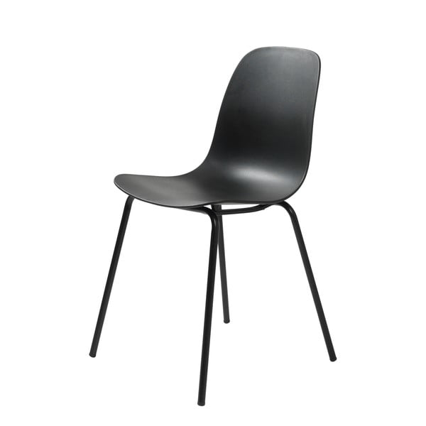 Černá jídelní židle Unique Furniture Whitby