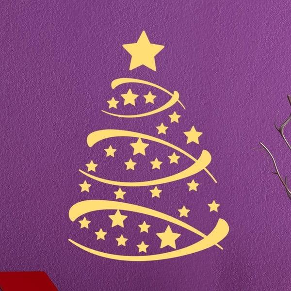 Vánoční samolepka Fanastick Christmas Tree
