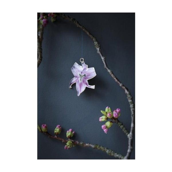 Kovová dekorace ve tvaru květiny A Simple Mess Olmeto