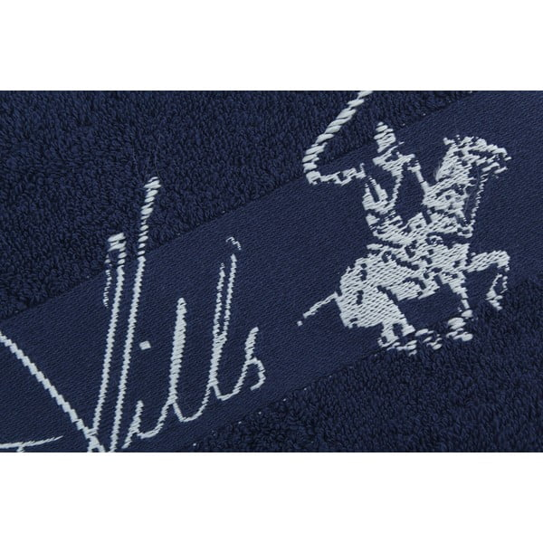 Bavlněný ručník BHPC 50x100 cm, námořnická modř