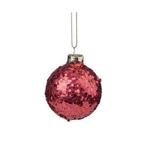 Decorațiune de Crăciun cu sclipici Butlers, ⌀ 6 cm