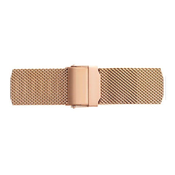 Unisex hodinky s páskem ve zlatorůžové barvě z nerezové oceli Frederic Graff Parido