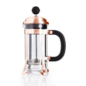 French Press pentru ceai și cafea Bambum Taşev Holmes, 350 ml, arămiu deschis