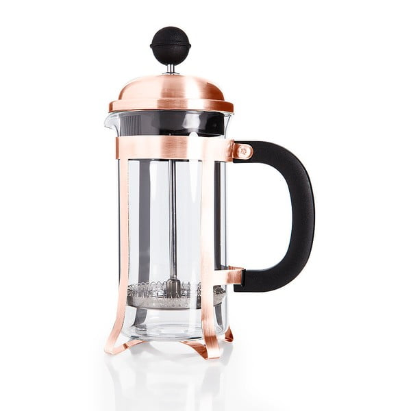 Svetlomedený french press Bambum Taşev Holmes, objem 350 ml