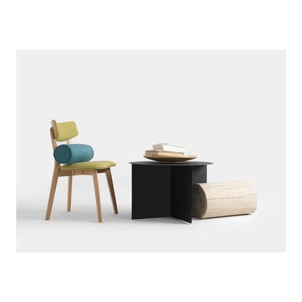 Černý konferenční stolek Custom Form Oli, ⌀70cm