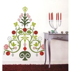Samolepka na zeď Vánoční stromek