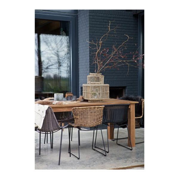 Jídelní stůl z teakového dřeva De Eekhoorn Karlijn, 90x200cm