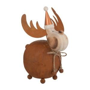 Dekorace J-Line Reindeer Met