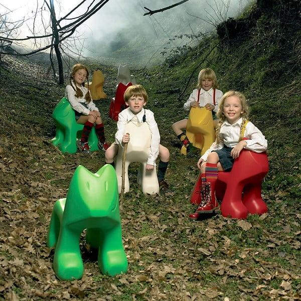 Dětská zelená židle Magis Julian