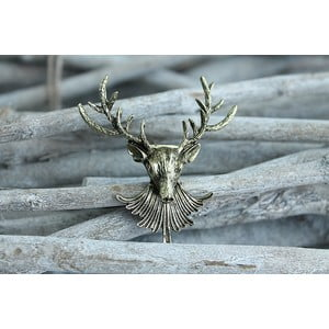 Brož Bronze Deer
