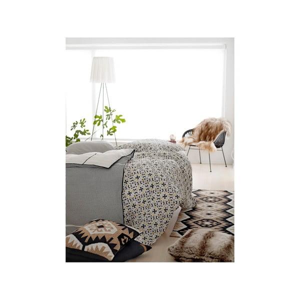 Polštář s náplní Fake Fur Grey, 50x50 cm