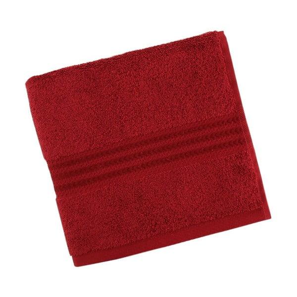 Czerwony bawełniany ręcznik Rainbow Red, 70x140 cm