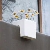 Květináč Steckling Cube, bílý