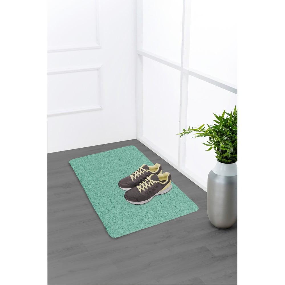 Produktové foto Zelená předložka vhodná i do exteriéru Wenko Mona, 80x50cm